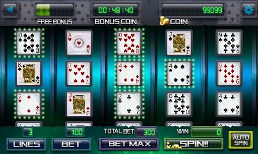 Poker Machine: 100% Up To AU$1000 Bonus